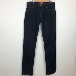 Lucky Brand sweet' n Straight Jeans 6/28 long